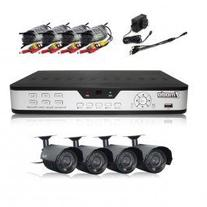 Zmodo PKD-DK0866-500GB  8 Channel H.264 DVR with 500GB + 4 x