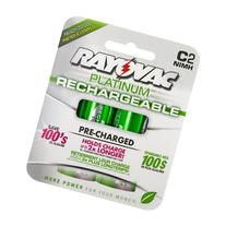 Rayovac PL714-2 - Rechargeable NiMH Battery - C Size -
