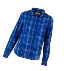 Ascend Plaid Button-Shirt Shirt for Ladies - 2XL