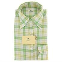 Luigi Borrelli Green Shirt