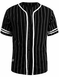 NE PEOPLE Mens Plain Short Sleeve Button Down Active Stripe