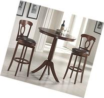 Plainview Bar Height Bistro Table with Corsica Stools in