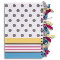 Plan Ahead Ribbon Journal, Hardcover, Assorted Colors, Color