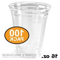 Plastic Cups CRYSTAL CLEAR PET