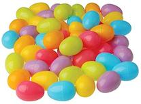 Plastic Easter Eggs , Assorted Colors