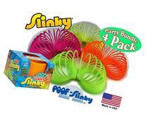POOF-Slinky Original Plastic GIANT Slinky Neon Colors Green