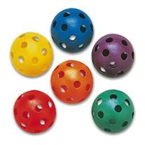 Plastic Softballs - Prism Pack of 6