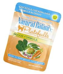 Natural Balance 3-Ounce Platefulls Indoor Chicken and