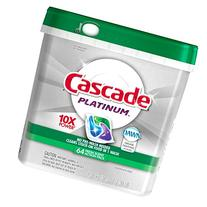 Cascade Platinum ActionPacs Dishwasher Detergent Fresh Scent