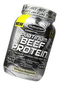 MuscleTech Platinum 100% Beef Protein, Ultra-Pure Hydrolyzed