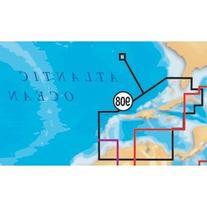 Navionics Platinum+ SD 908 Caribbean+Bermuda Nautical Chart