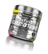 MuscleTech Platinum 100% Creatine, Ultra-Pure Micronized