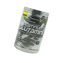 MuscleTech Platinum 100% Glutamine, Ultra-Pure Micronized