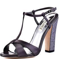 Badgley Mischka Platinum Women's Jenie T-Strap Sandal,