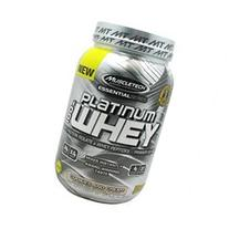 MuscleTech Platinum 100% Whey Supplement, Cookies & Cream, 2