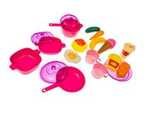 Kids Play Food & Dishes Set: Toy Kitchen Accessories: