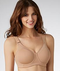 Playtex Women's Play Outgoer Underwire Lightly Lined Sportsbra, Nude, X-Large