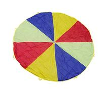 12 Foot Play Parachute for Kids 8 Handles with Storage Bag