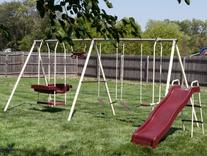 Play And Park Metal Swing Set
