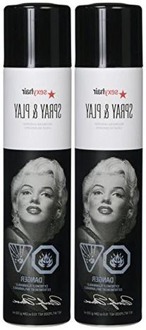 Big Sexy Hair Spray and Play Volumizing Hairspray, 10 oz, 2