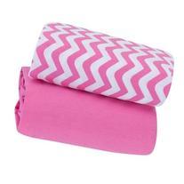 Garanimals Playard Sheet, 2Pk, Strawberry Pink 073654352900