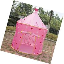 Playhouse Pink Princess Castle Play Tent for Kids - Indoor