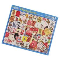 White Mountain Puzzles Playing Cards - 1000 Piece Jigsaw
