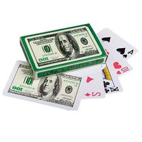 Lot Of 12 Decks $100 Bill Money Themed Poker Playing Cards