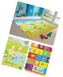 MyLine Baby Play Mat, Foam Floor Gym Rug, Non-Toxic, Non-