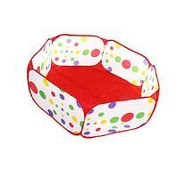HOODDEAL Children Playpen Hexagon Polka Dot Baby Playard