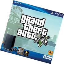 SONY PlayStation 3 Gaming Console 500GB + Grand Theft Auto V