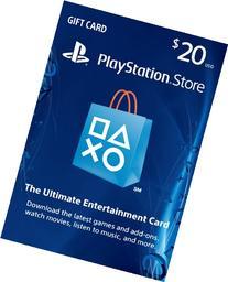 $20 PlayStation Store Gift Card - PS3/ PS4/ PS Vita