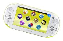 PlayStation Vita Wi-Fi Lime Green/White PCH-2000ZA13