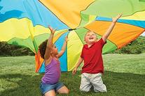 Playtime Parachute Toy - Fun and Safe Play - Encourages an