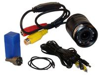 PYLE PLCM22IR Flush Mount Rear View Camera with 0.5 Lux