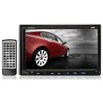 Pyle PLDNV78I 7-Inch Double-DIN Touchscreen LCD Monitor with