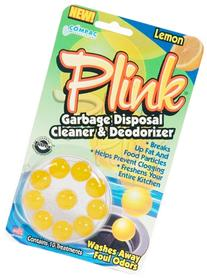 Compac Plink 10ct LEMON Garbage Disposal Cleaner &