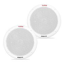 Pyle PLMR605W Dual 6.5'' Waterproof Marine Speakers, 2-Way