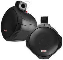 PYLE PLMRB85 8-Inch 300-Watt 2-Way Wakeboard Speakers