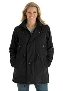 Woman Within Women's Plus Size Jacket, Anorak In Weather-