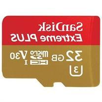 SanDisk Extreme PLUS 32 GB microSDHC - UHS-I