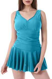 HengJia Women's Plus-Size One Piece Shaping Body Swimsuit/
