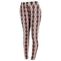 ShoSho Women's Plus Size Printed Tapered Leg Soft Pants