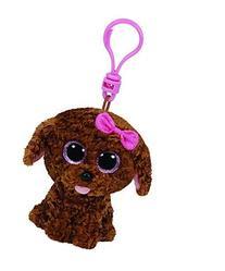 Ty Plush-beanie Boo' S Clip-maddie The Dog