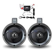Pyle PLUTVA102 Waterproof Dual Wakeboard Speaker and