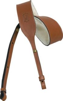Levy's Leathers PMB32-WAL Carving Leather Banjo Strap