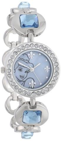 Disney Kids' PN2000 Cinderella Rhinestone-Accented Watch
