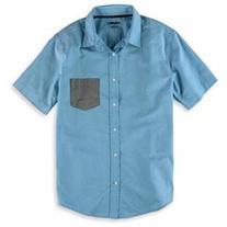 73a5b92cad86d1 Tony Hawk Mens Pocket Button Up Shirt