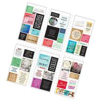 Me & My Big Ideas Pocket Pages Clear Stickers 6 Sheets/Pkg-