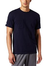 Russell Athletic Men's Athletic Pocket Tee, Navy, XXX-Large
